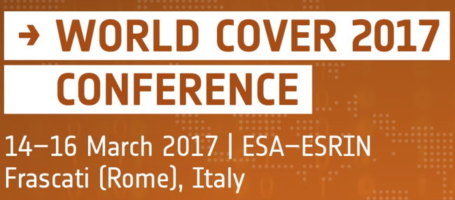 GAF AG will be participating at the ESA WorldCover Conference from 14 – 16 March 2017 at ESRIN in Frascati – Italy.
