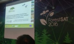 EOMonDis successfully presented at ForestSAT 2016