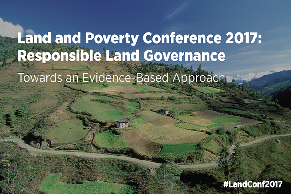 World Bank Conference on Land and Poverty 2017