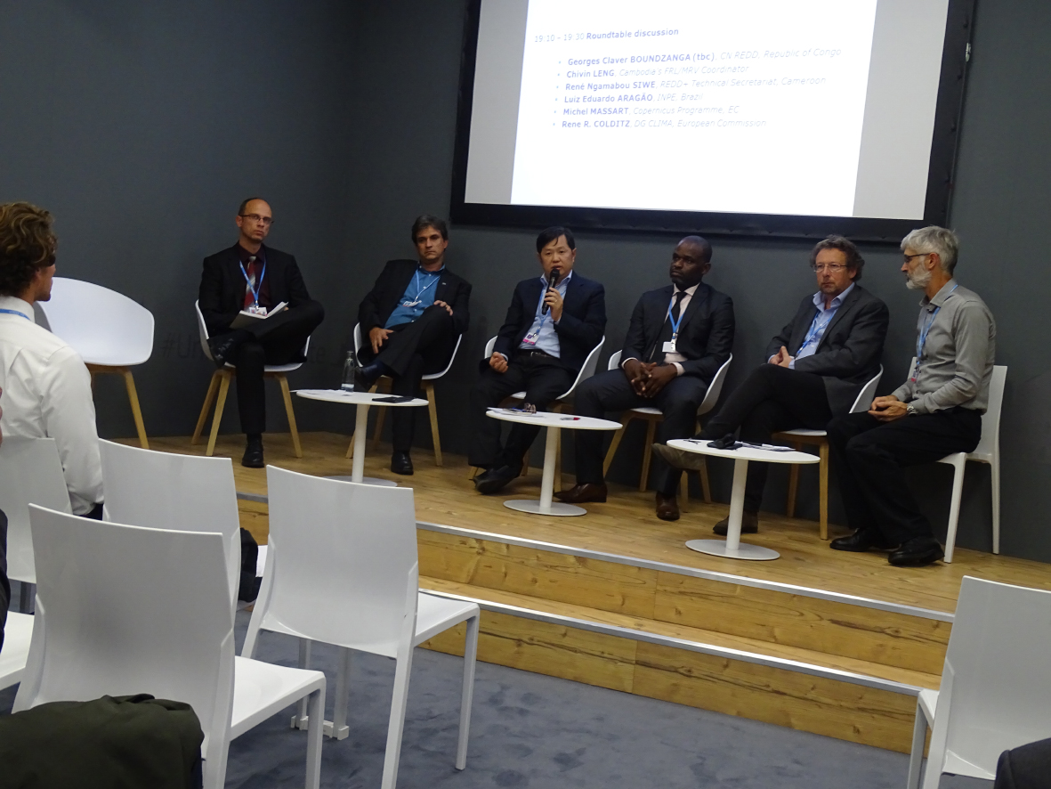 UNFCCC COP23 Side Event: Progress in monitoring forest degradation Perspectives from the Sentinels for REDD+: EOMonDis on 9th November 2017