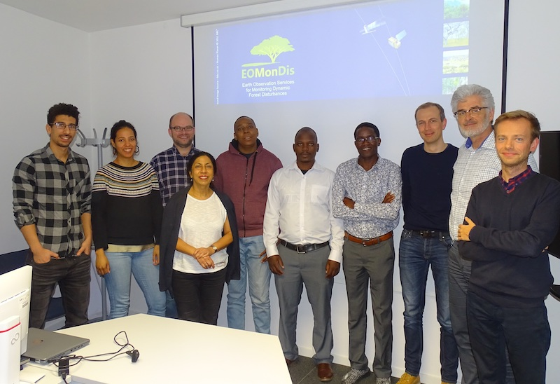 GAF AG organized the second EOMonDis User Validation Workshop